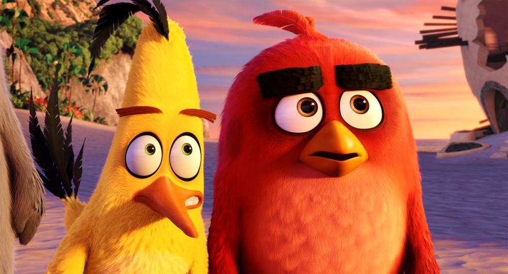 Angry Birds - Il film: una scena del film d'animazione
