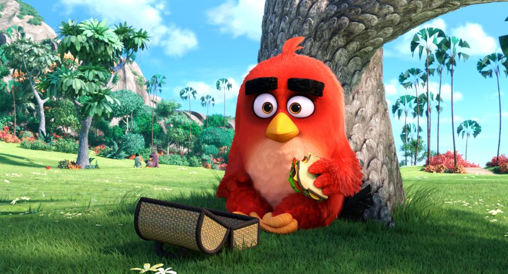 Angry Birds - Il film: una scena del film animato