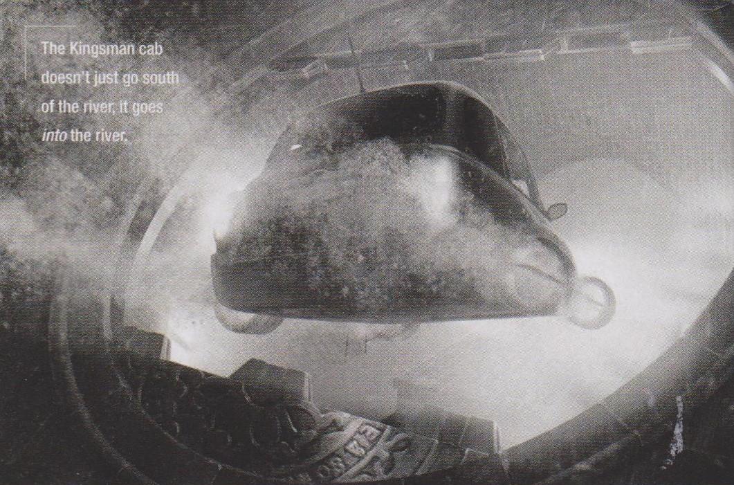 Kingsman: The Golden Circle - Un mezzo di trasporto subacqueo