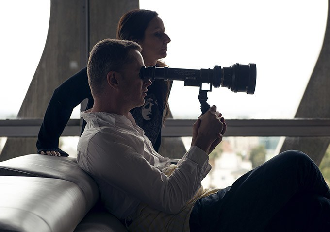 The Neon Demon: Nicolas Winding Refn sul set