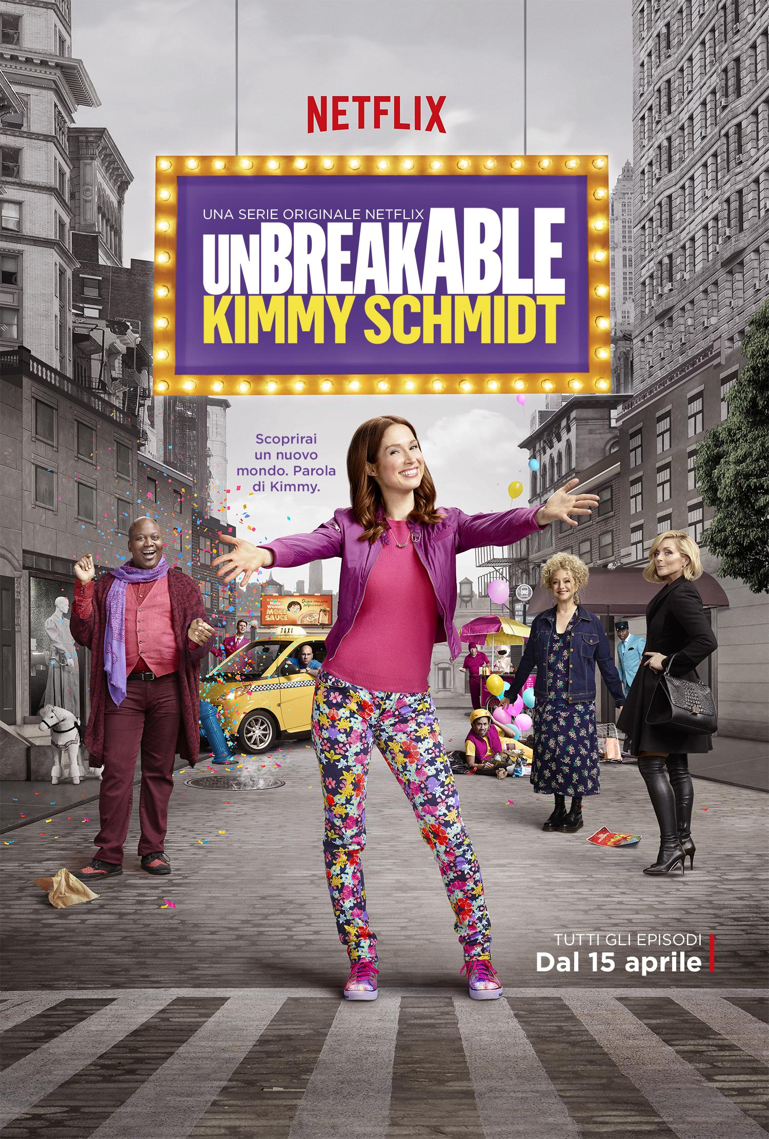Unbreakable Kimmy Schmidt - La locandina della seconda stagione