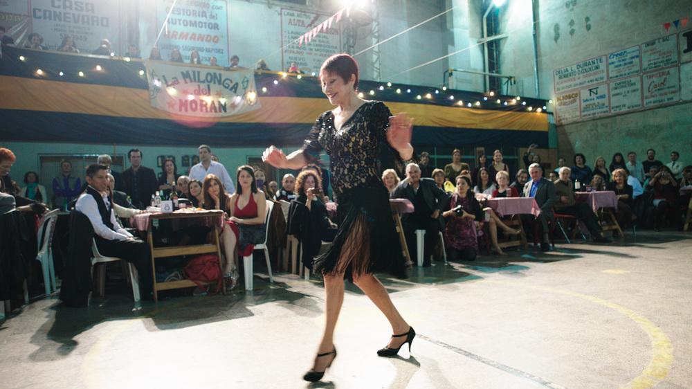 Un ultimo tango: María Nieves Rego in una scena del film
