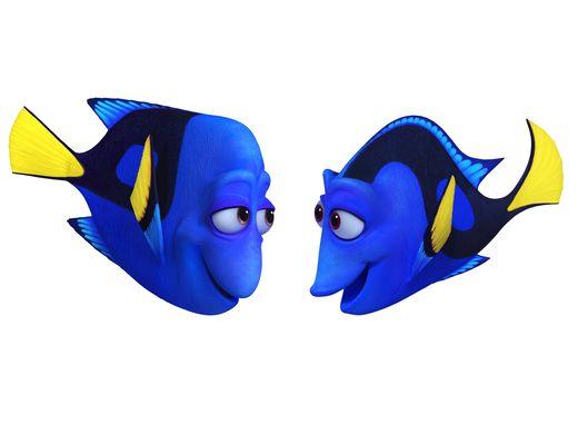 Alla ricerca di Dory: un'immagine di Charlie e Jenny