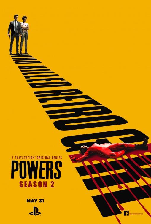 Powers: il poster della seconda stagione