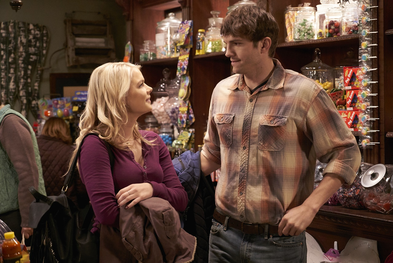 The Ranch: l'attrice Kelli Goss insieme al protagonista Ashton Kutcher