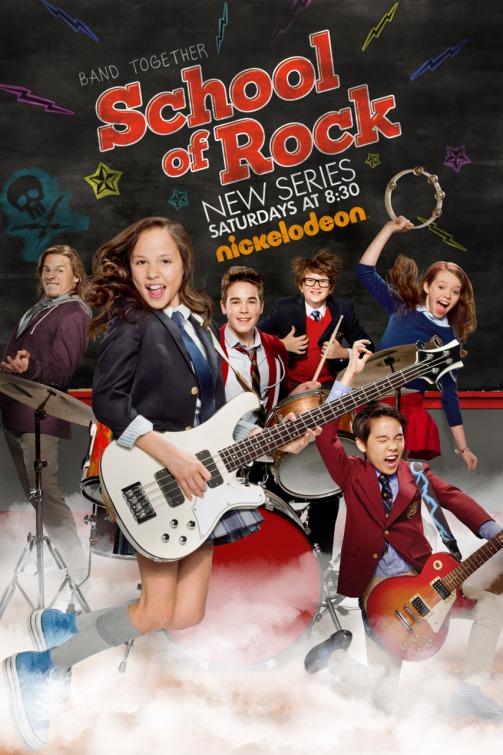 School of Rock: la locandina della serie