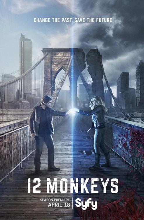 12 Monkeys: la locandina della seconda stagione