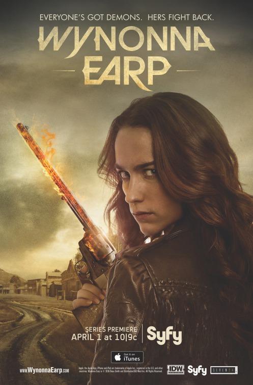 Wynonna Earp: la locandina della serie