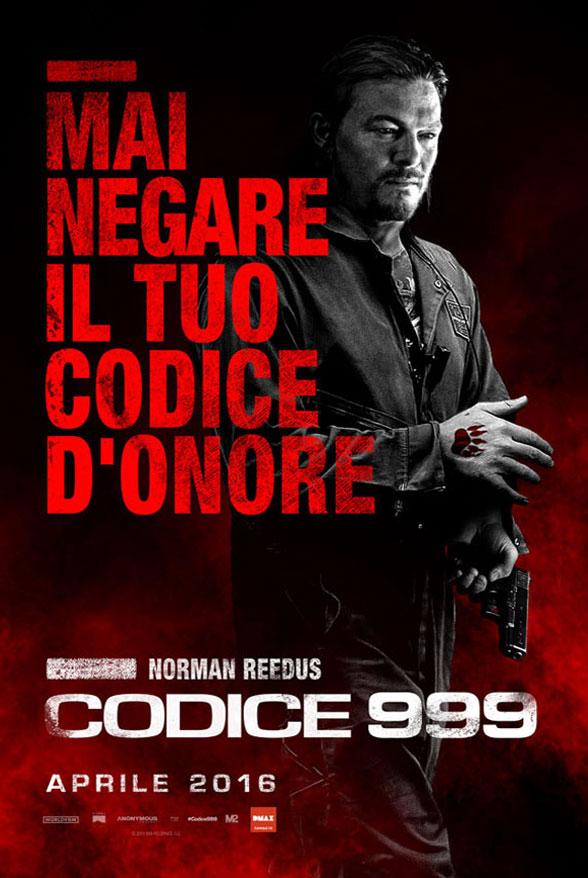 Codice 999: il character poster italiano di Norman Reedus