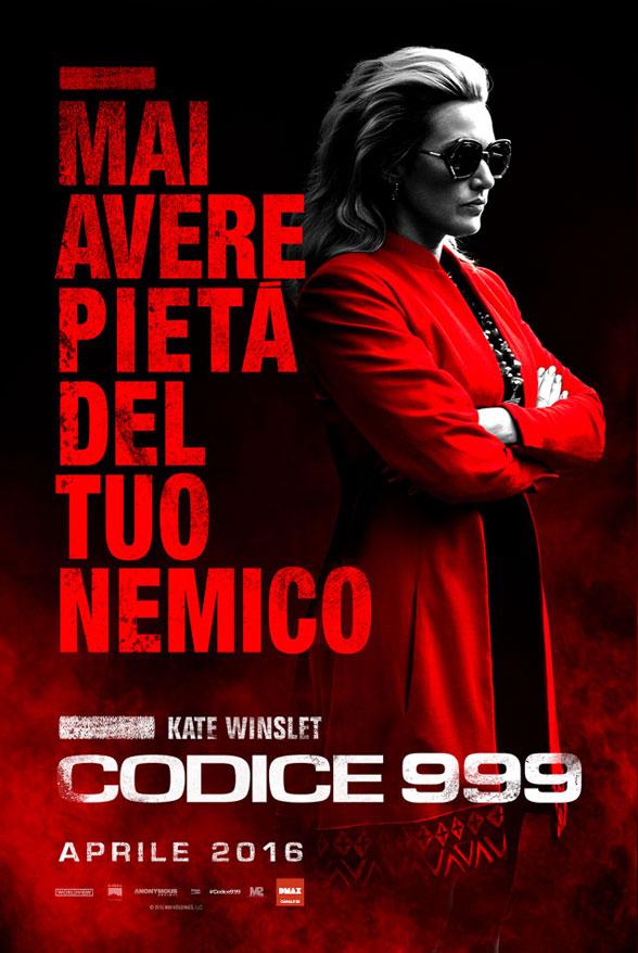 Codice 999: il character poster italiano di Kate Winslet