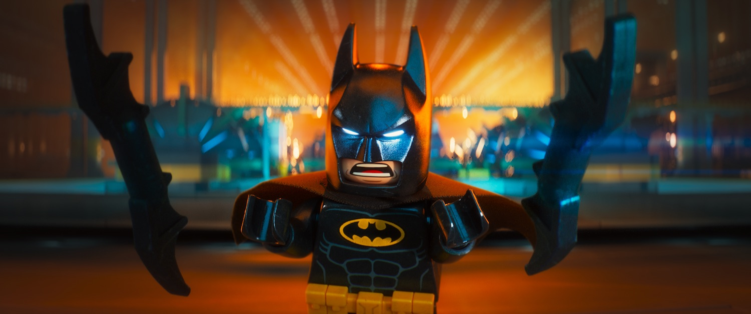 Lego Batman - Il film: Batman in azione in una scena del film animato