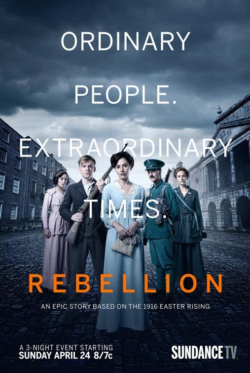Rebellion: la locandina della miniserie