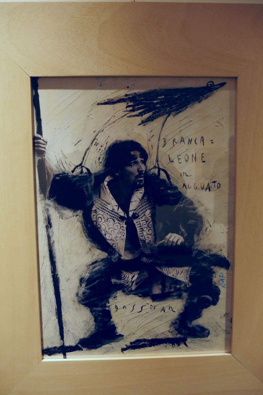 Mario Monicelli: un'immagine di Vittorio Gassman ne L'armata Brancaleone