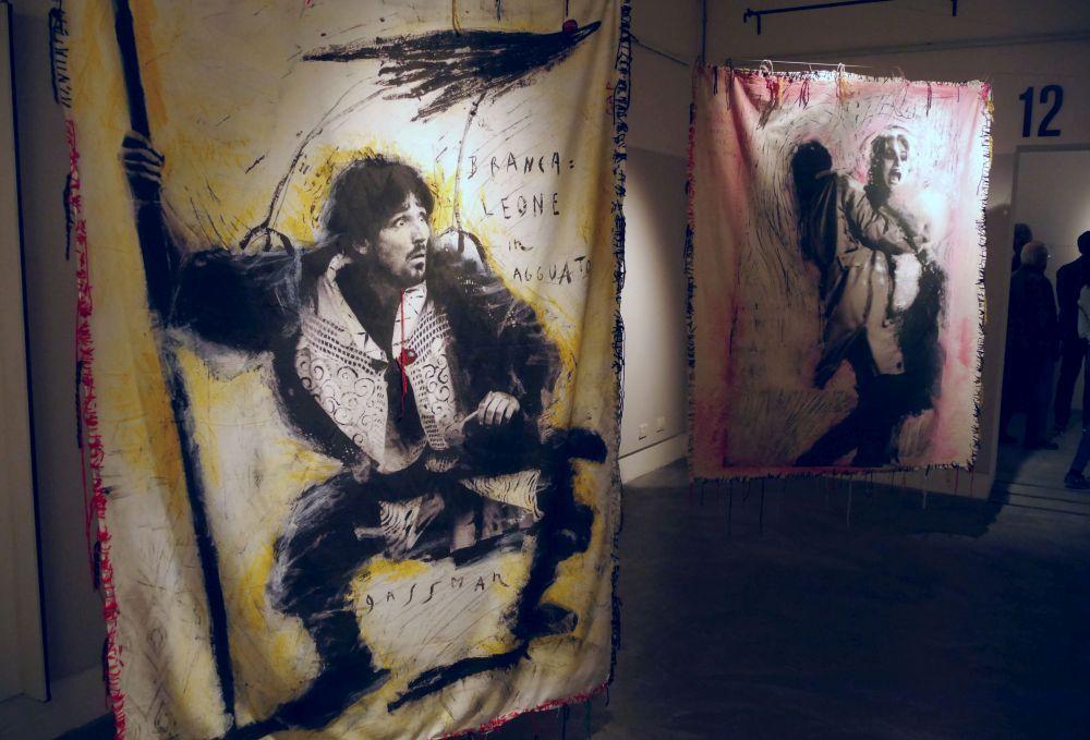 Mario Monicelli: una delle sale della mostra a Viareggio