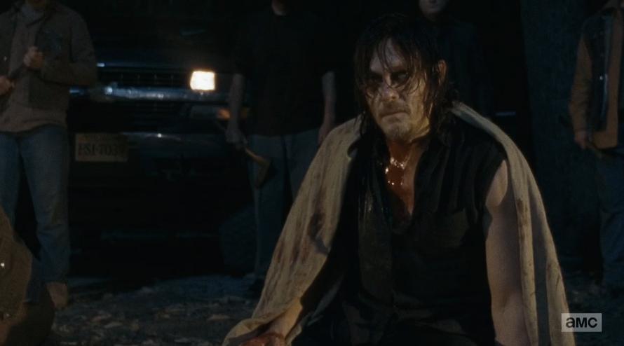 The Walking Dead: Norman Reedus nella puntata L'ultimo giorno sulla Terra
