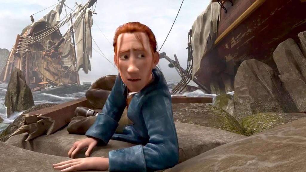 Robinson Crusoe: un'immagine del film d'animazione