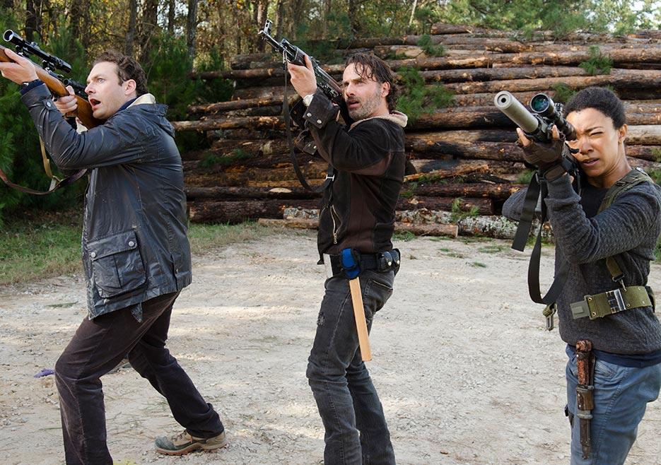 The Walking Dead: una foto della puntata L'ultimo giorno sulla Terra