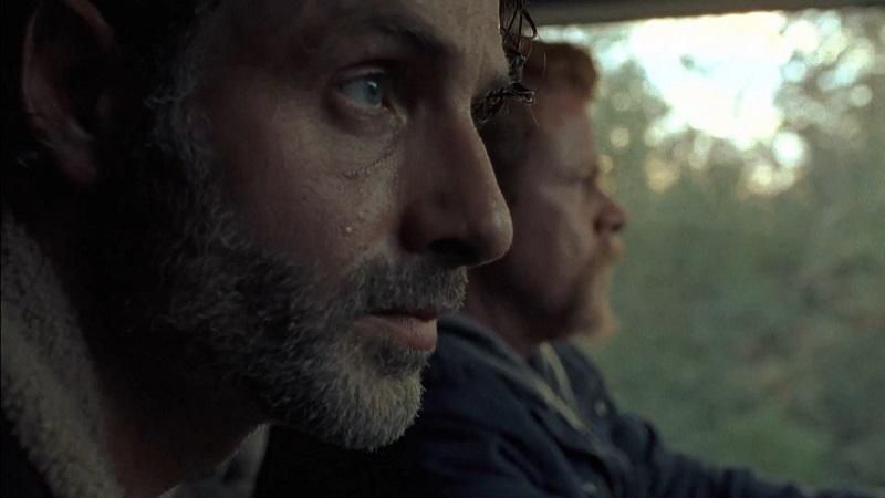 The Walking Dead: Andrew Lincoln e Michael Cudlitz in L'ultimo giorno sulla Terra