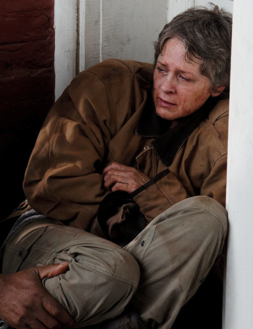 The Walking Dead: Melissa McBride interpreta Carol in L'ultimo giorno sulla Terra