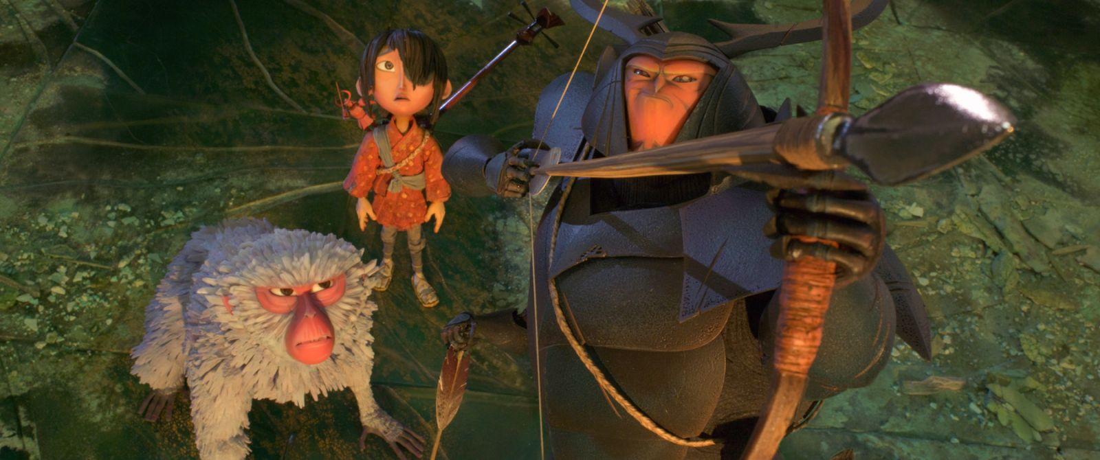 Kubo e la spada magica: un momento del film d'animazione