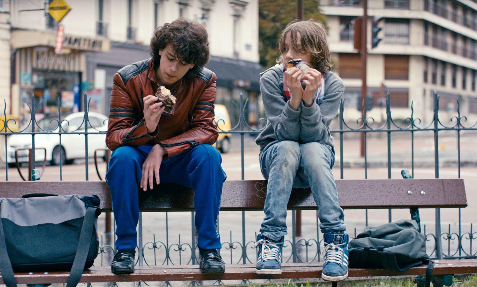 Microbo & Gasolina: Ange Dargent e Théophile Baquet in un momento del film