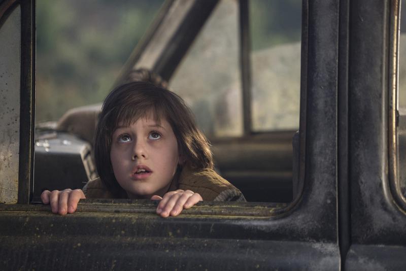 Il gigante gentile: Ruby Barnhill in una foto del film
