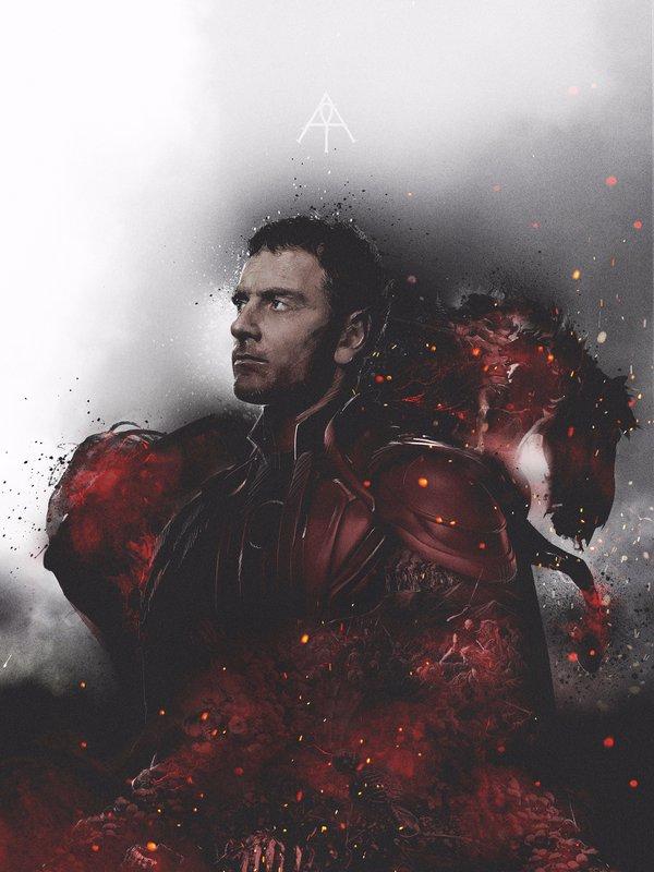 X-Men: Apocalisse - Il character poster di Magneto, interpretato da Michael Fassbender