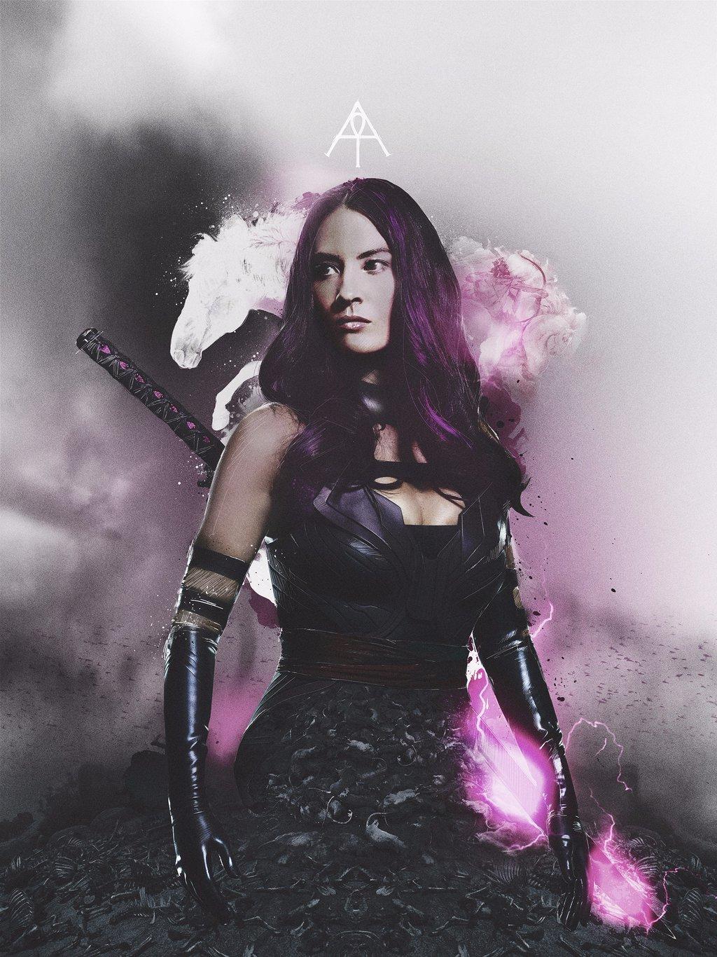 X-Men: Apocalisse - Il character poster di Psylocke, interpretata da Olivia Munn