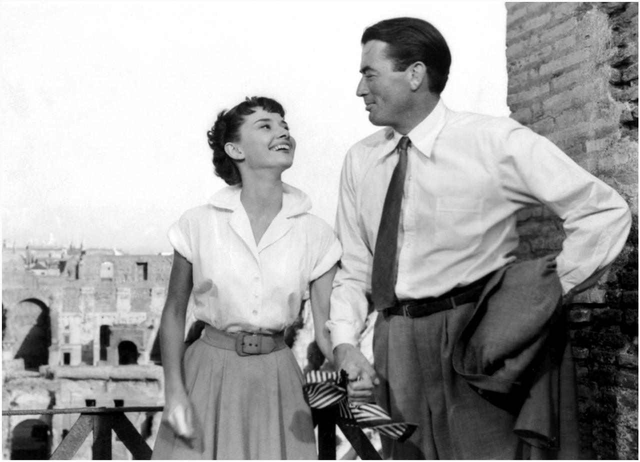 Vacanze romane: Gregory Peck e Audrey Hepburn