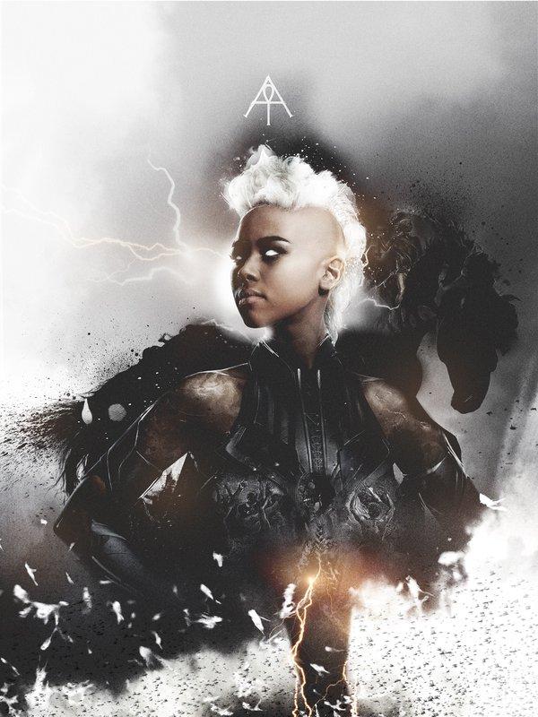 X-Men: Apocalisse - Il character poster di Tempesta, interpretata da Alexandra Shipp