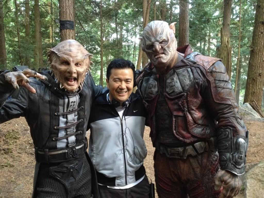 Star Trek: Justin Lin sul set