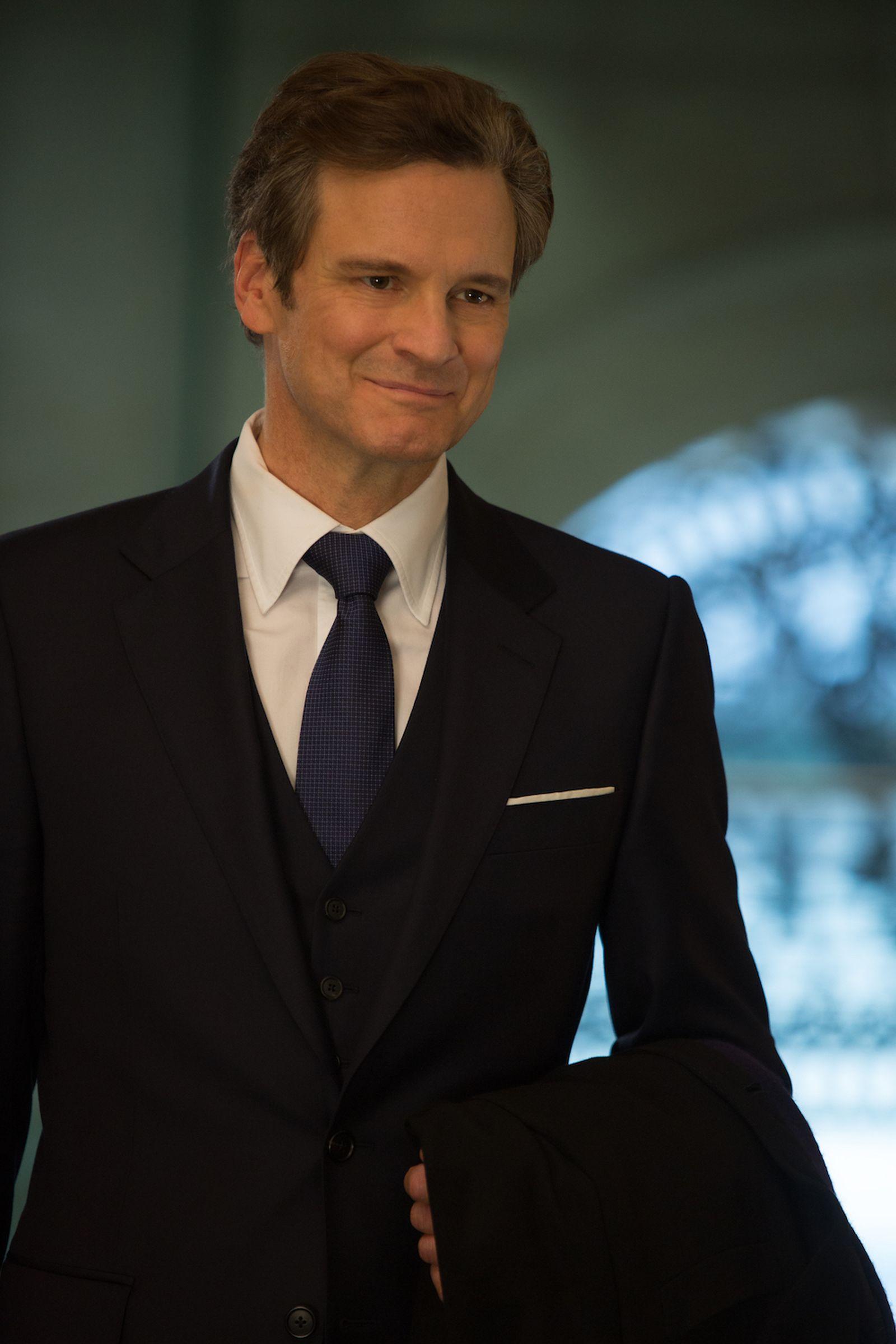 Bridget Jones's Baby: Colin Firth in un'immagine del film
