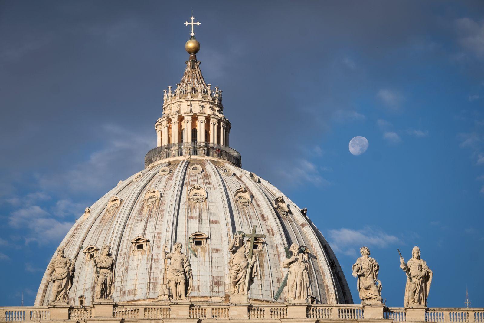 San Pietro e le Basiliche Papali di Roma 3D: la Cupola di San Pietro in un'immagine del documentario