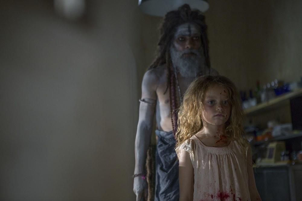 The Other Side of the Door: Sofia Rosinsky in una scena del film