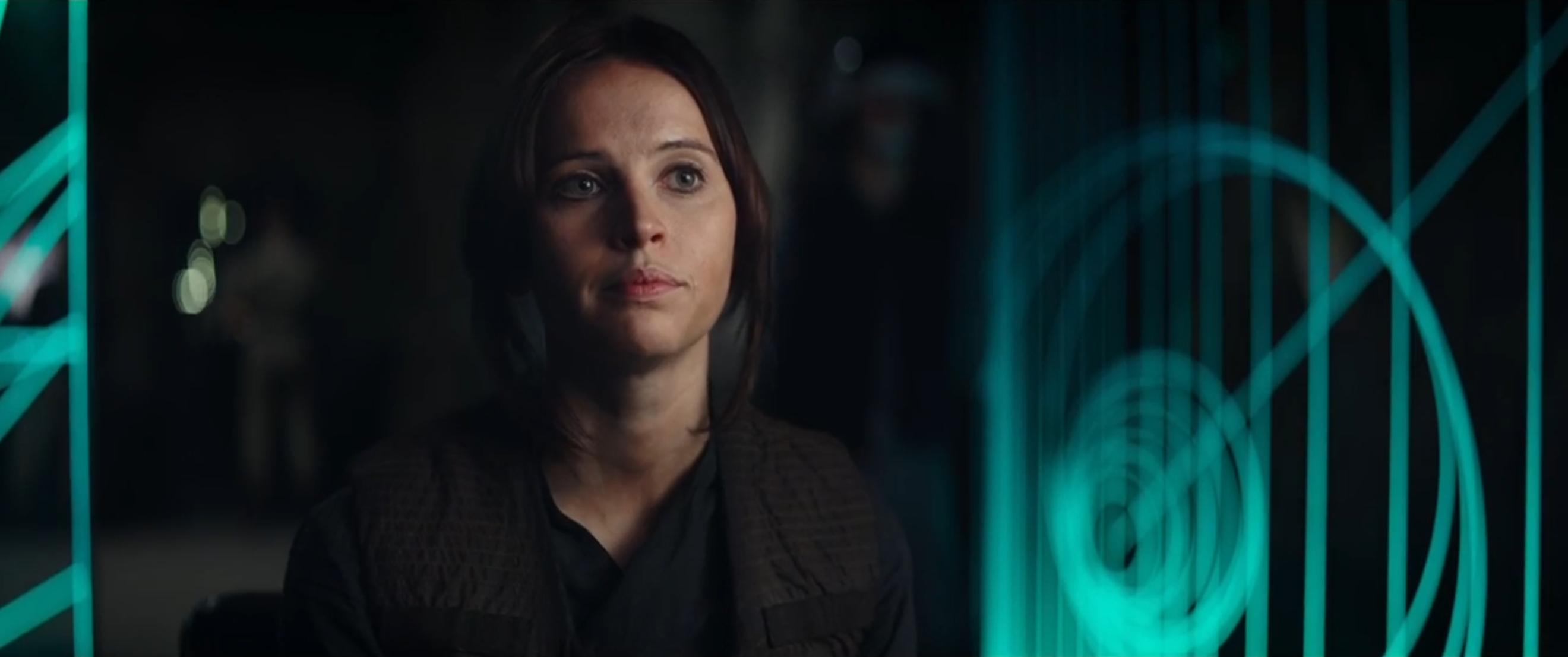 Rogue One - A Star Wars Story: Felicity Jones è Jyn nel teaser trailer del film
