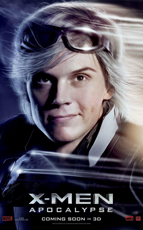 X-Men: Apocalisse - Il character poster di Quicksilver