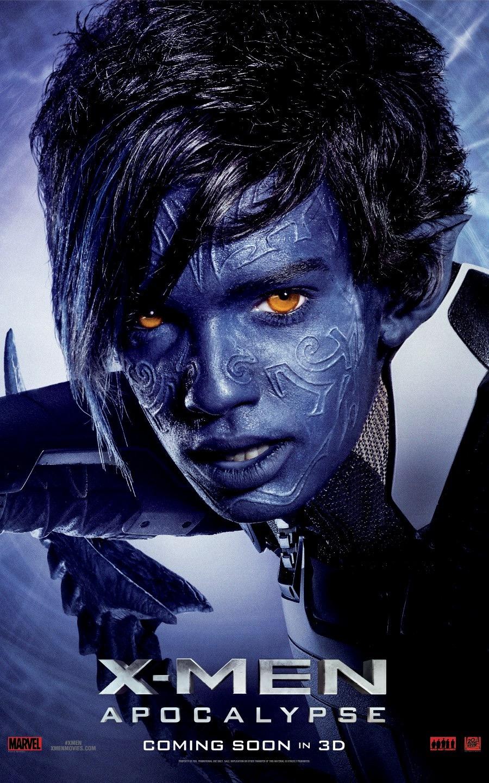 X-Men: Apocalisse - Il character poster di Nightcrawler