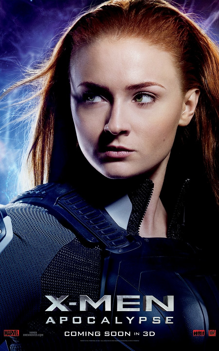 X-Men: Apocalisse - Il character poster di Jean Grey