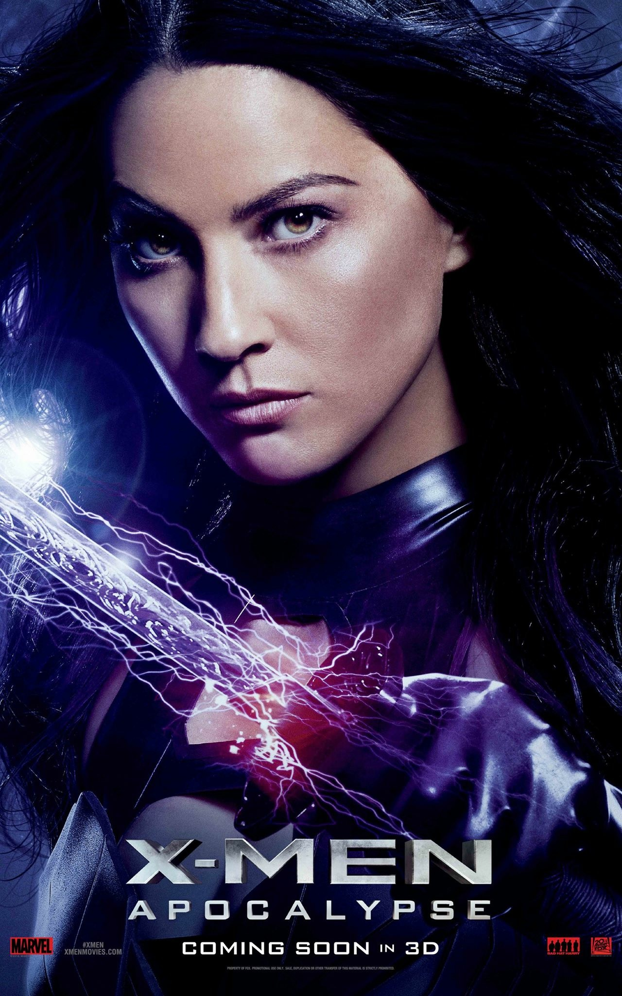 X-Men: Apocalisse - Il character poster di Psylocke