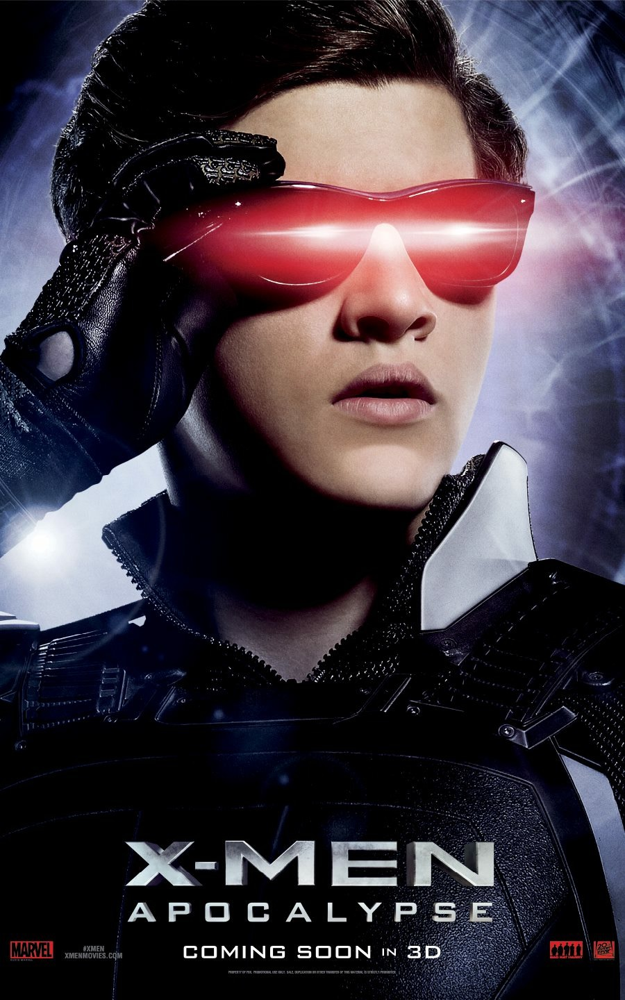 X-Men: Apocalisse - Il character poster di Cyclops
