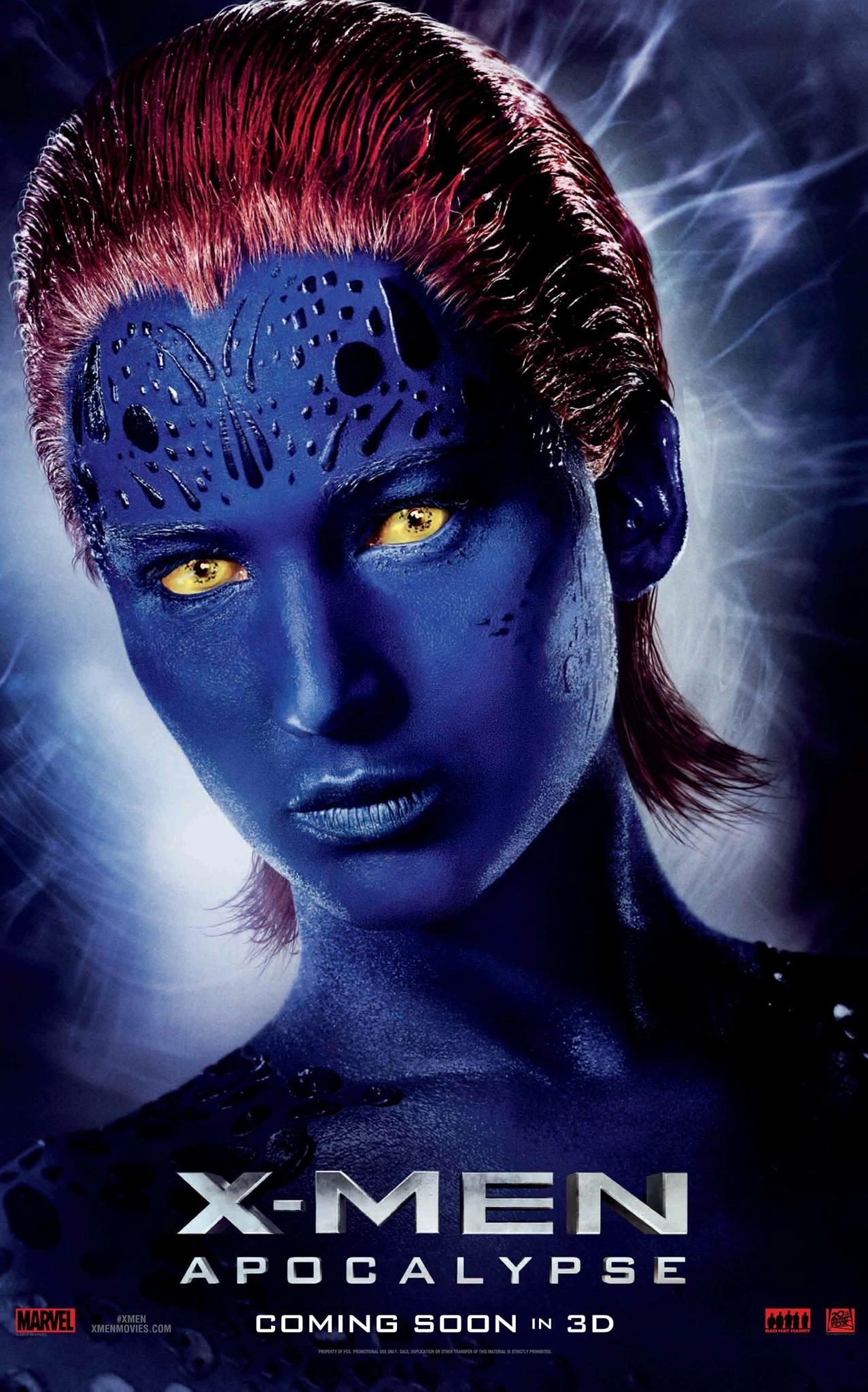 X-Men: Apocalisse - Il character poster di Mystique