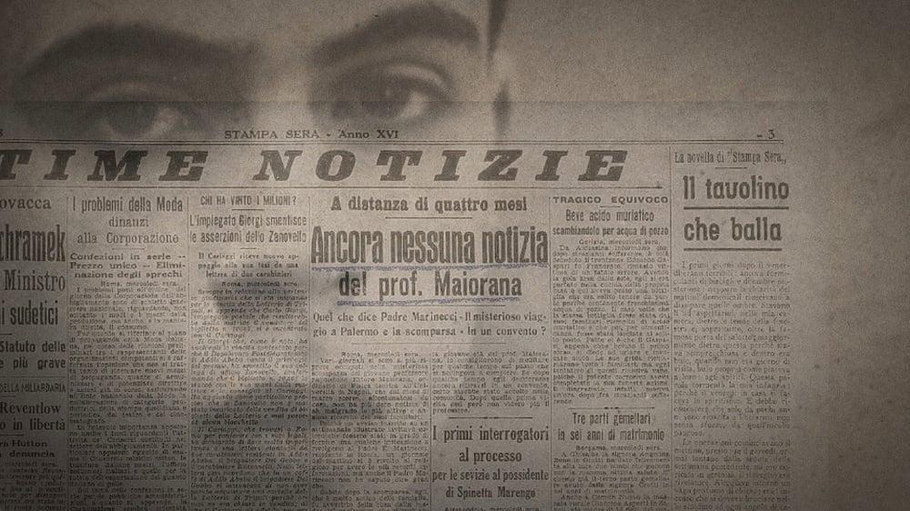 Nessuno mi troverà - Majorana Memorandum: un'immagine del documentario scritto e diretto da Egidio Eronico