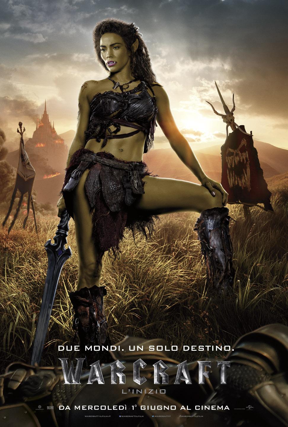 Warcraft - L'inizio: il character poster italiano di Garona