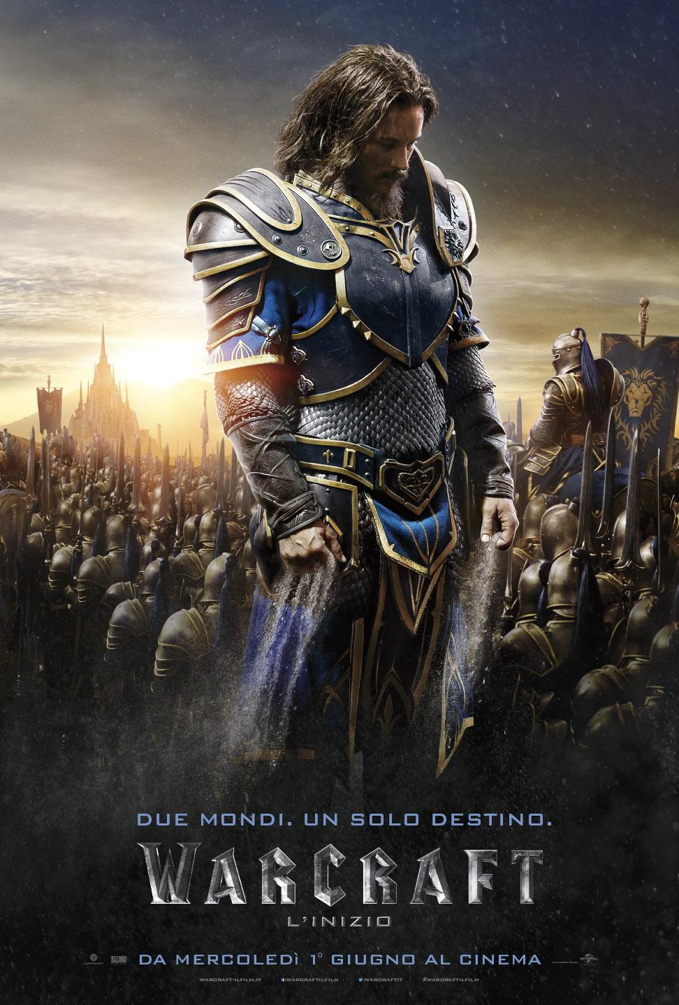 Warcraft - L'inizio: il character poster italiano di Lothar