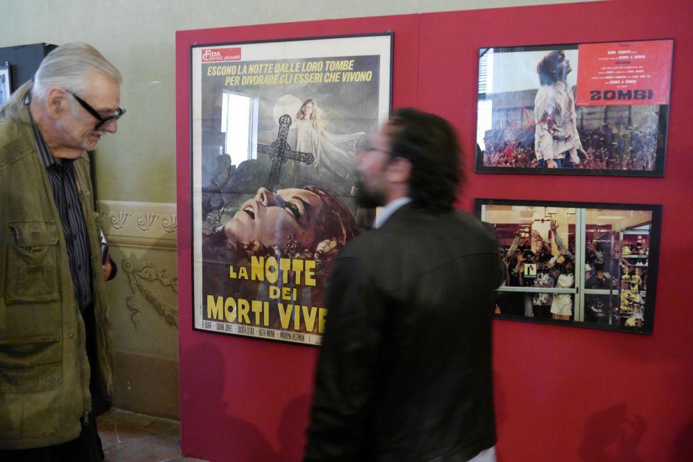Lucca Film Festival: George Romero in visita alla mostra dedicata a lui