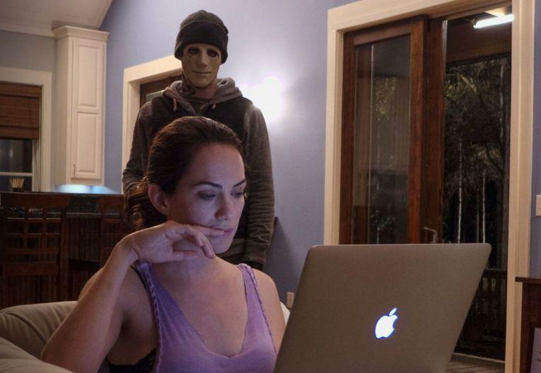 Hush - il terrore del silenzio, Kate Siegel e John Gallagher