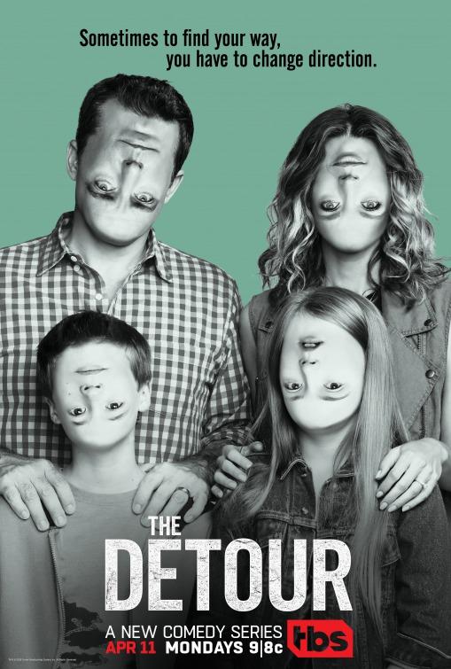 The Detour: una locandina della serie