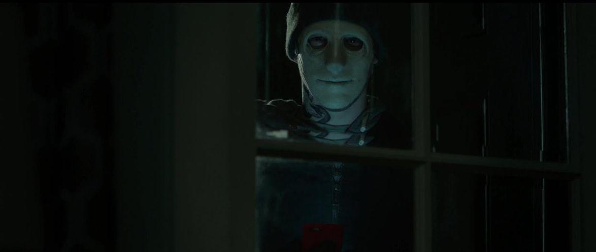 Una scena inquietante di Hush