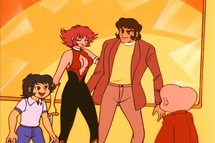 Cutey Honey: Una scena dell'anime di Go Nagai
