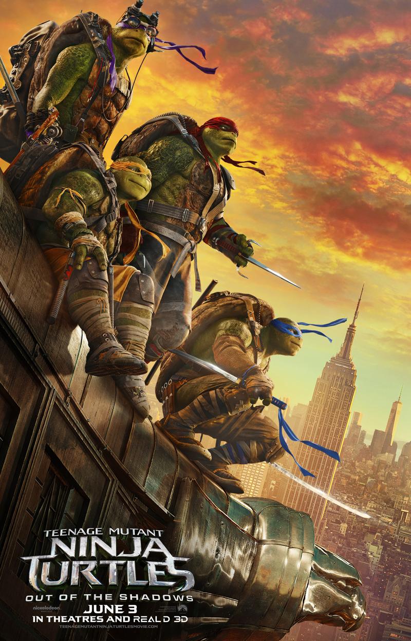 Tartarughe Ninja: Fuori dall'ombra - Un nuovo poster del film